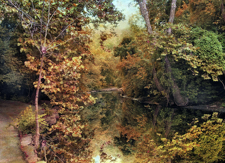 Autumn Photograph - Autumns Mirror by Jessica Jenney