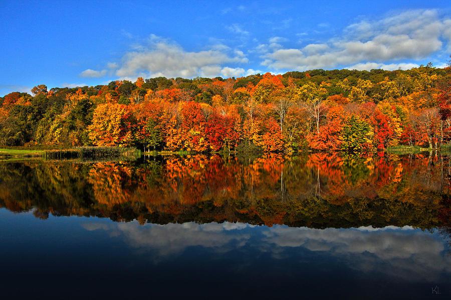 Autumn Photograph - Autumnscape by Karol Livote