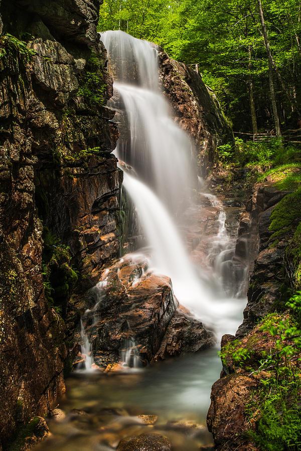 Waterfalls Photograph - Avalanche Falls by John Crookes