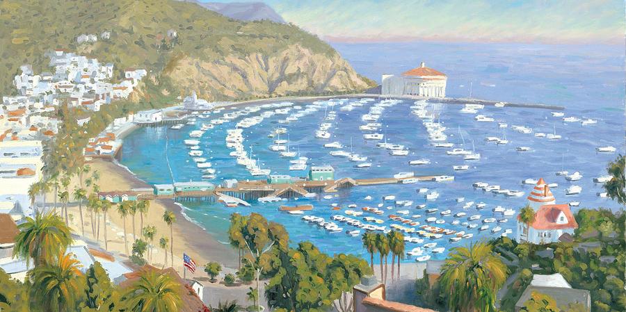 Avalon Panorama Painting by Steve Simon