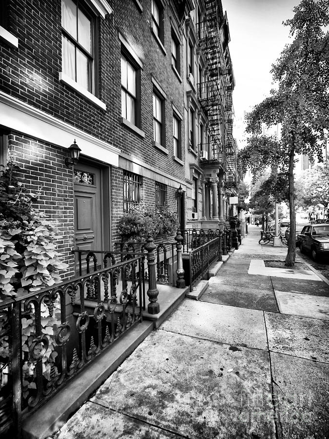 Avenue Photograph - Avenue Walk by John Rizzuto