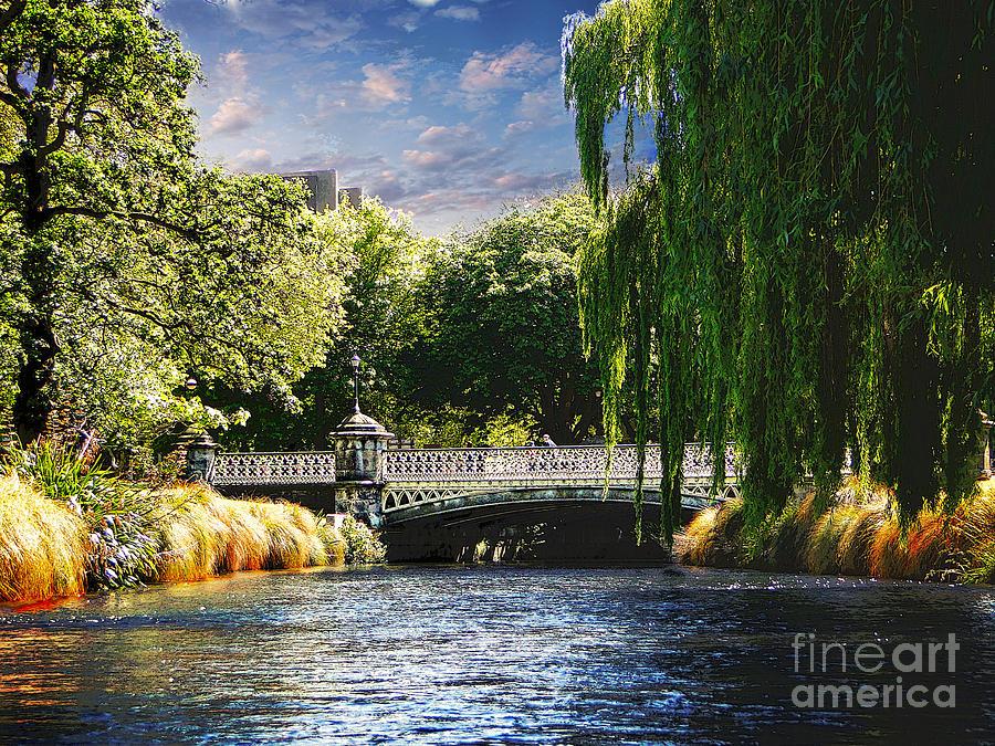 Christchurch Photograph - Avlon River by Ben Yassa