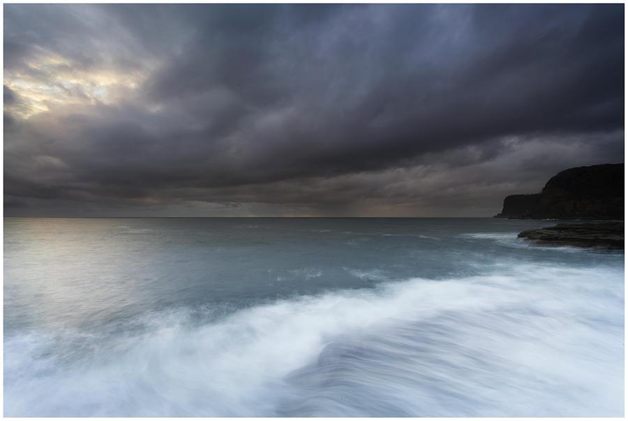 Avoca Photograph - Avoca Sunrise 1 by Steve Caldwell