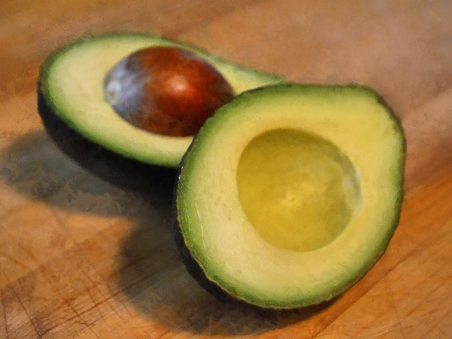 Kitchen Photograph - Avocado by Michelle Calkins
