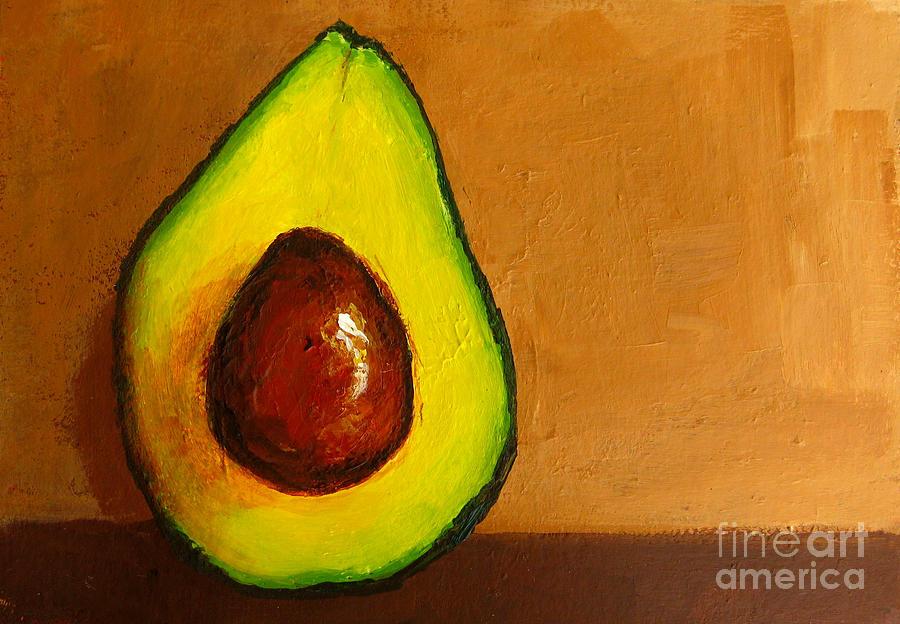Arts Painting - Avocado Palta Vi by Patricia Awapara