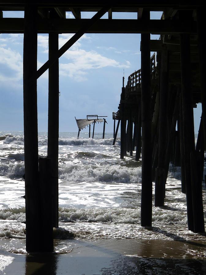 Avon Pier Photograph - Avon Pier by Patricia Januszkiewicz