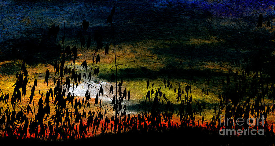 Awaiting The Harvest Mixed Media by R Kyllo