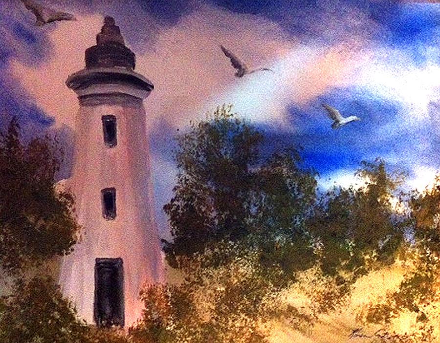 Awake At Dawn Painting by Karen  Condron
