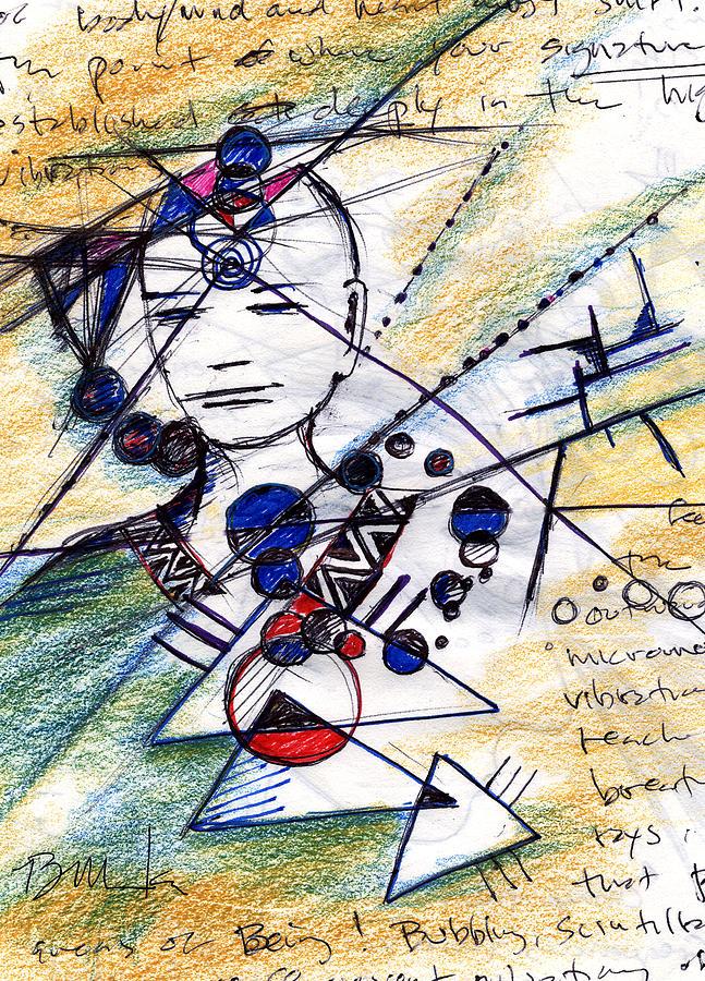 Awakening Painting - Awake In The Dream by Bruce Manaka