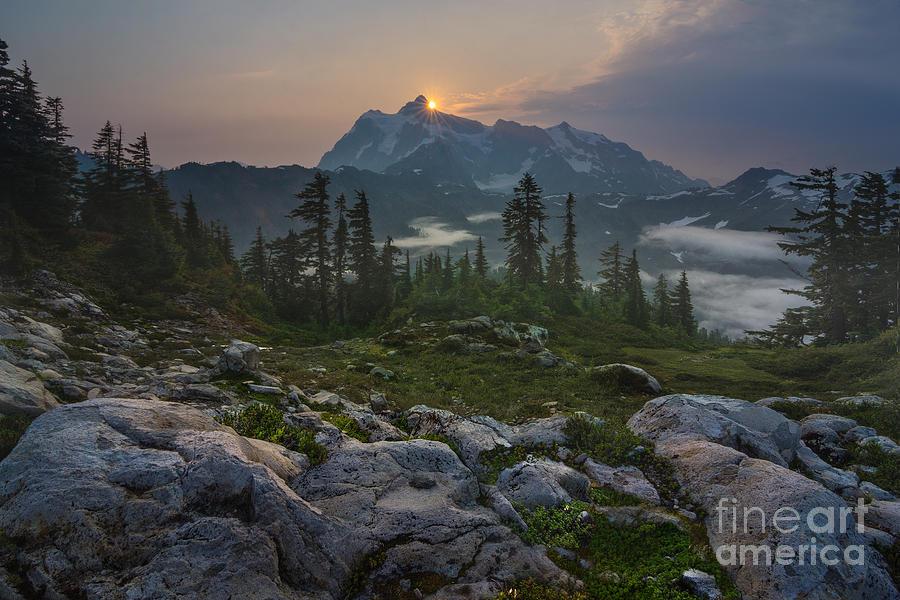 Mt. Shuksan Photograph - Awaken by Gene Garnace