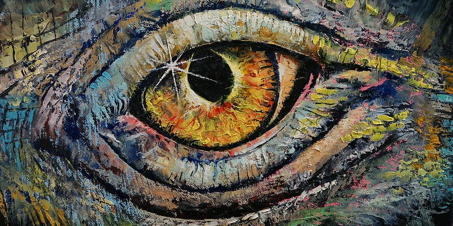 Sun Painting - Awakened Dragon by Michael Creese