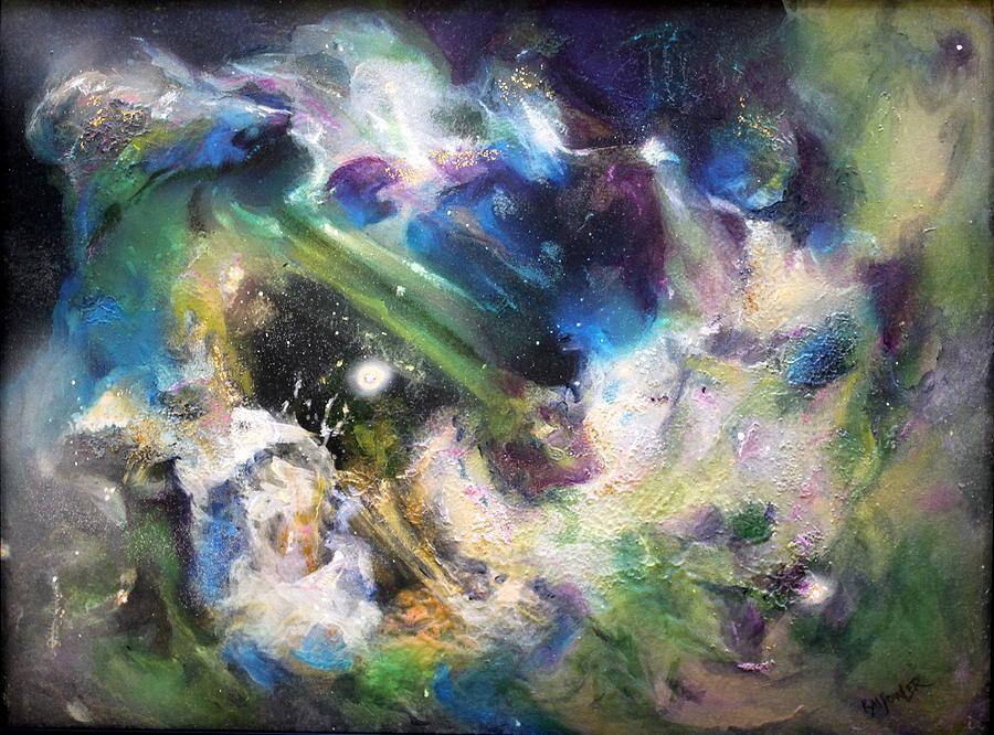 Star Painting - Awakening by Kathleen Fowler