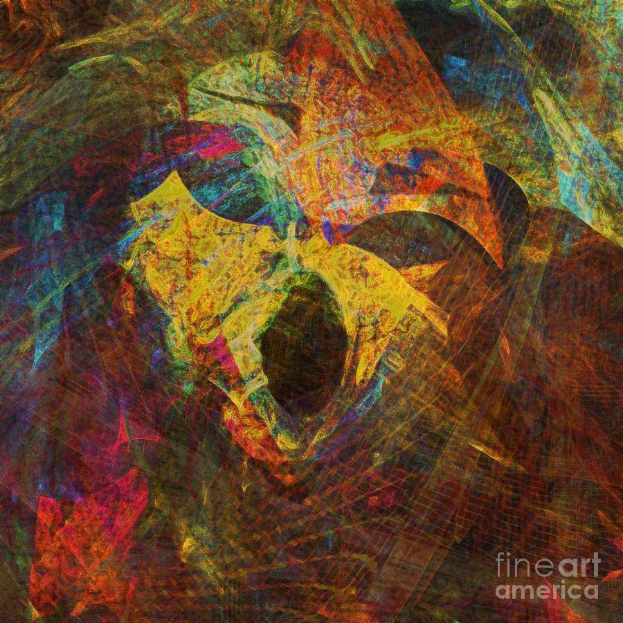 Awakening Digital Art - Awakening by Klara Acel