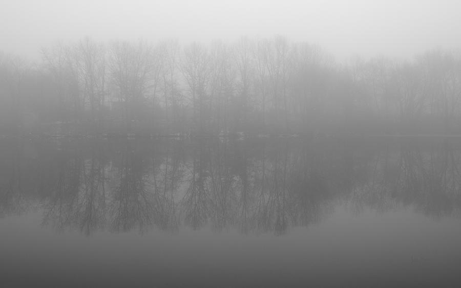 Misty Photograph - Awakening by Luke Moore