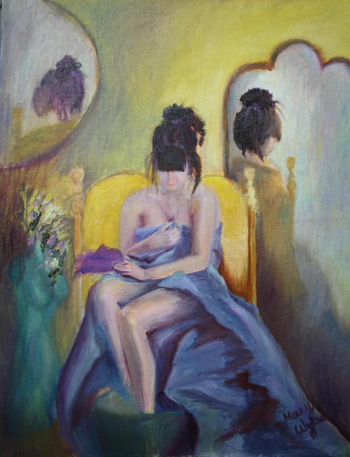 Awakening Painting - Awakening by Mary Beglau Wykes