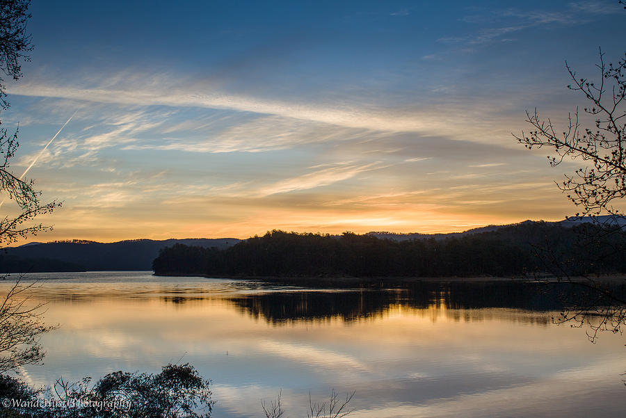 Ocoee Lake Photograph - Awakening by Paul Herrmann