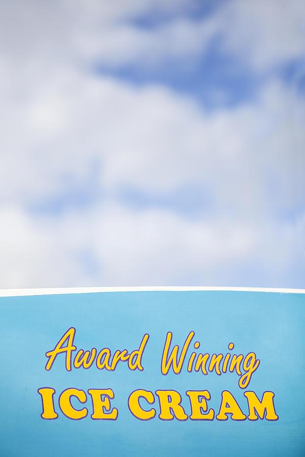 Award Winning Ice Cream Photograph