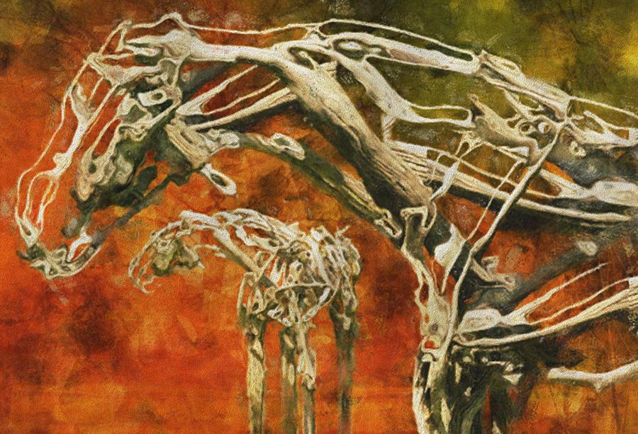 Digital Painting - Aware by Jack Zulli