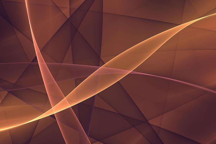 Fractal Digital Art - Awareness by Gabiw Art
