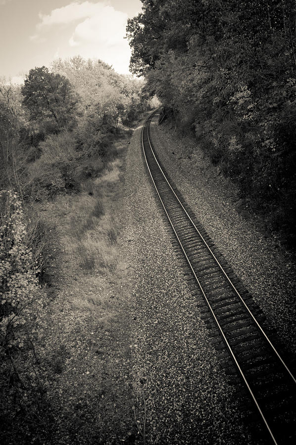 Train Photograph - Away From Here by Off The Beaten Path Photography - Andrew Alexander