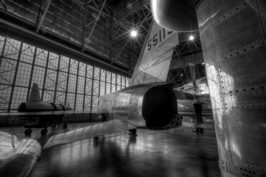 X-planes Photograph - Awesome Aluminum F-107 by David Dufresne