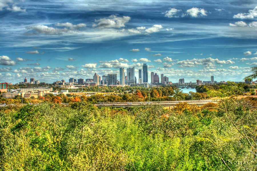 Awesome Austin Photograph by Andrew Nourse