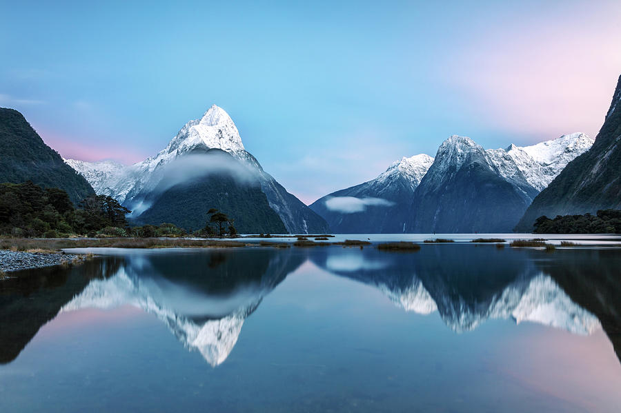 Awesome Sunrise At Milford Sound, New Photograph by Matteo Colombo