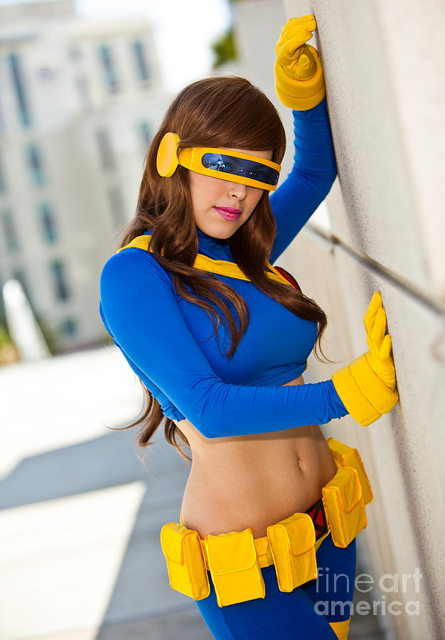 X-men Photograph - Awesome X-man Cyclops by Andreas Schneider