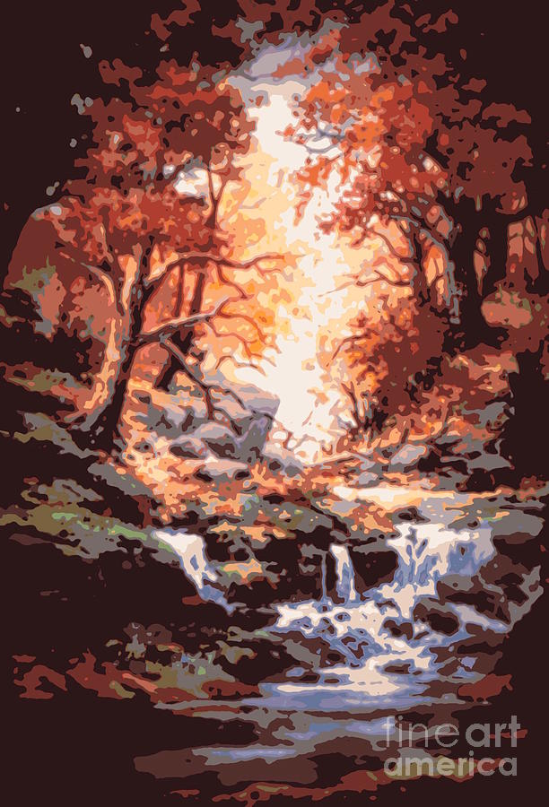 Autumn Painting - Awsom  by W  Scott Fenton