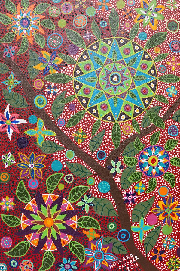 Ayahuasca Vision Painting