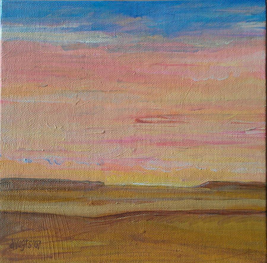 Iowa Painting - Ayuhwa by Dawn Vagts