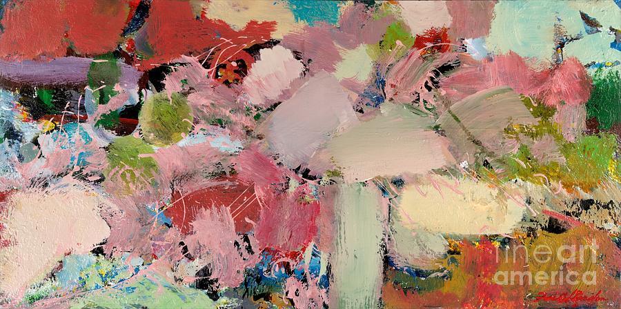 Landscape Painting - Azaleas by Allan P Friedlander