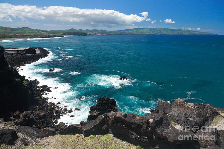 Islands Photograph - Azores Islands Ocean by Gaspar Avila