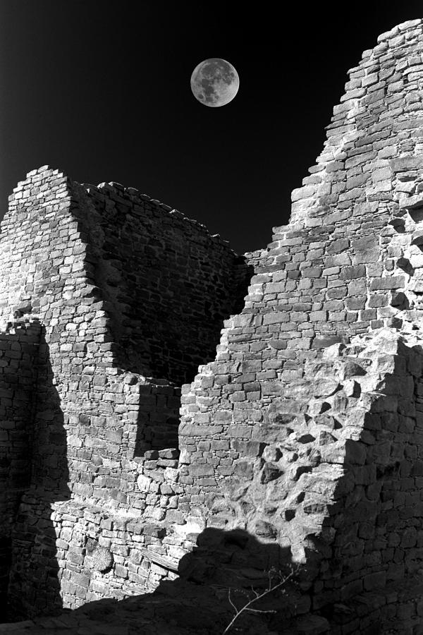 New Photograph - Aztec Moon by Jerry McElroy