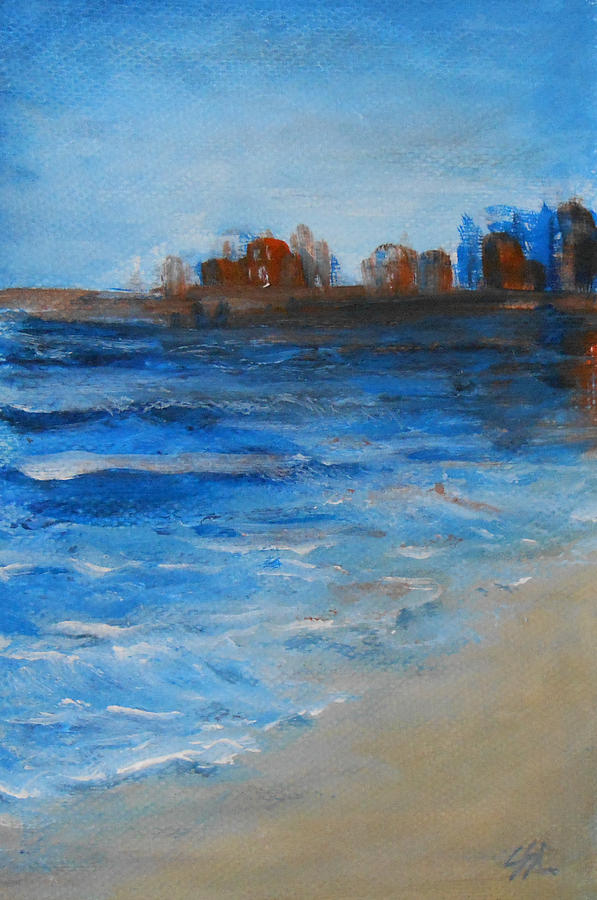 Seascape Painting - Azure by Jane  See