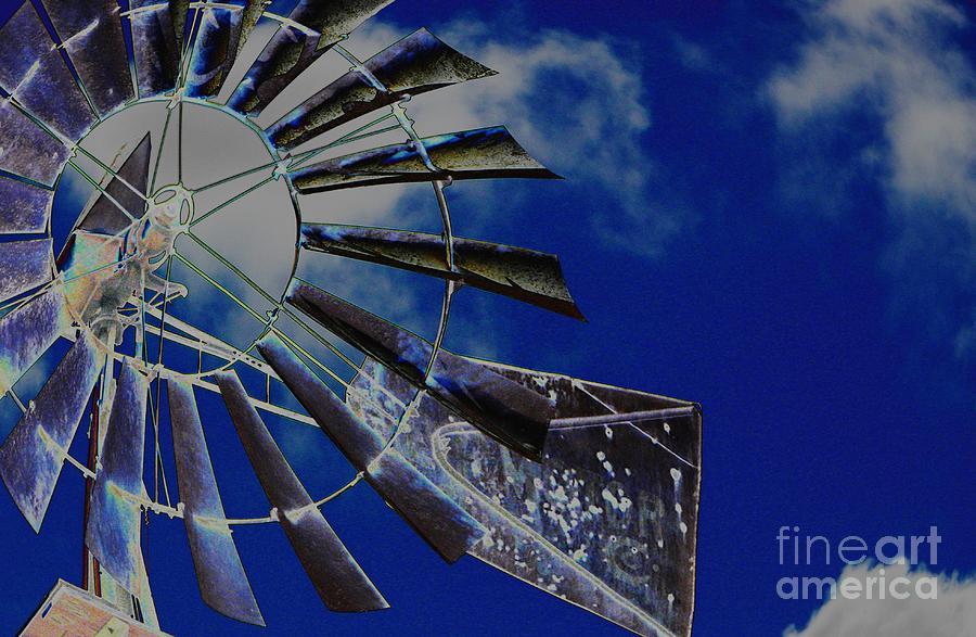 Azure Sky  by Diane Miller