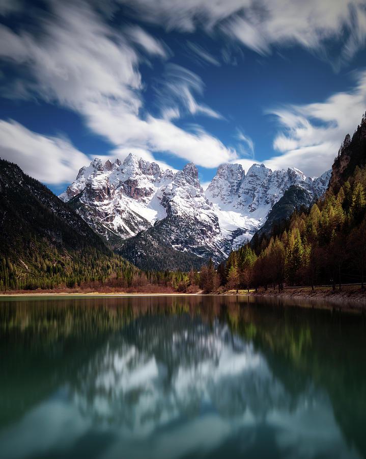 Lake Photograph - Azzurri. by Juan Pablo De