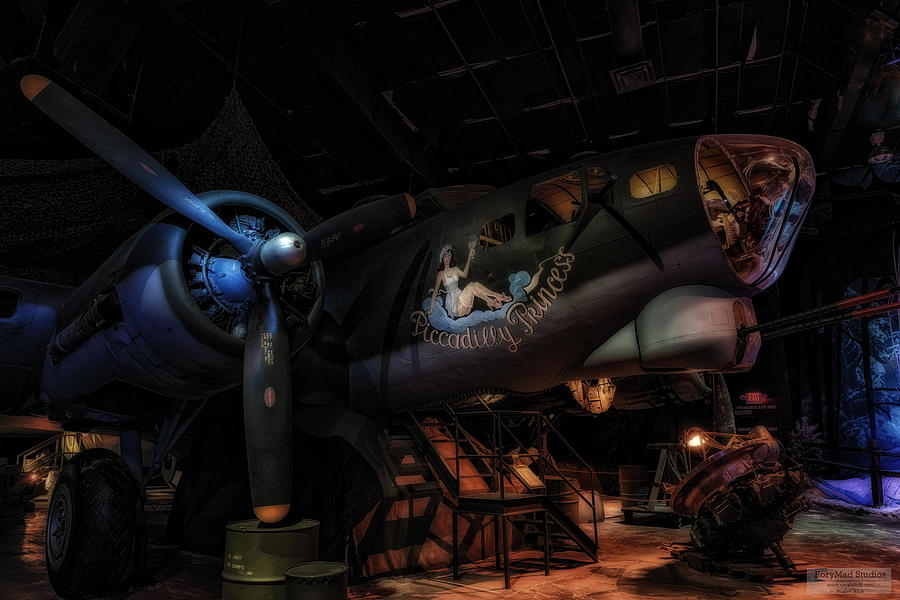 Wwii Photograph - B-17 Exhibit In Hdr by Michael White