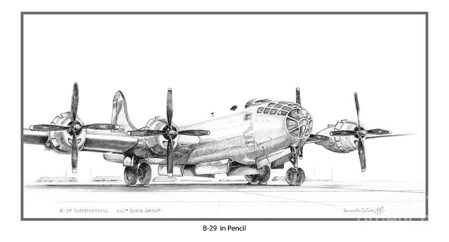 B-29 by Kenneth De Tore