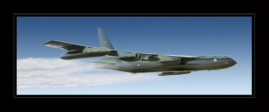 B-52 Stratofortress Photograph by Larry McManus