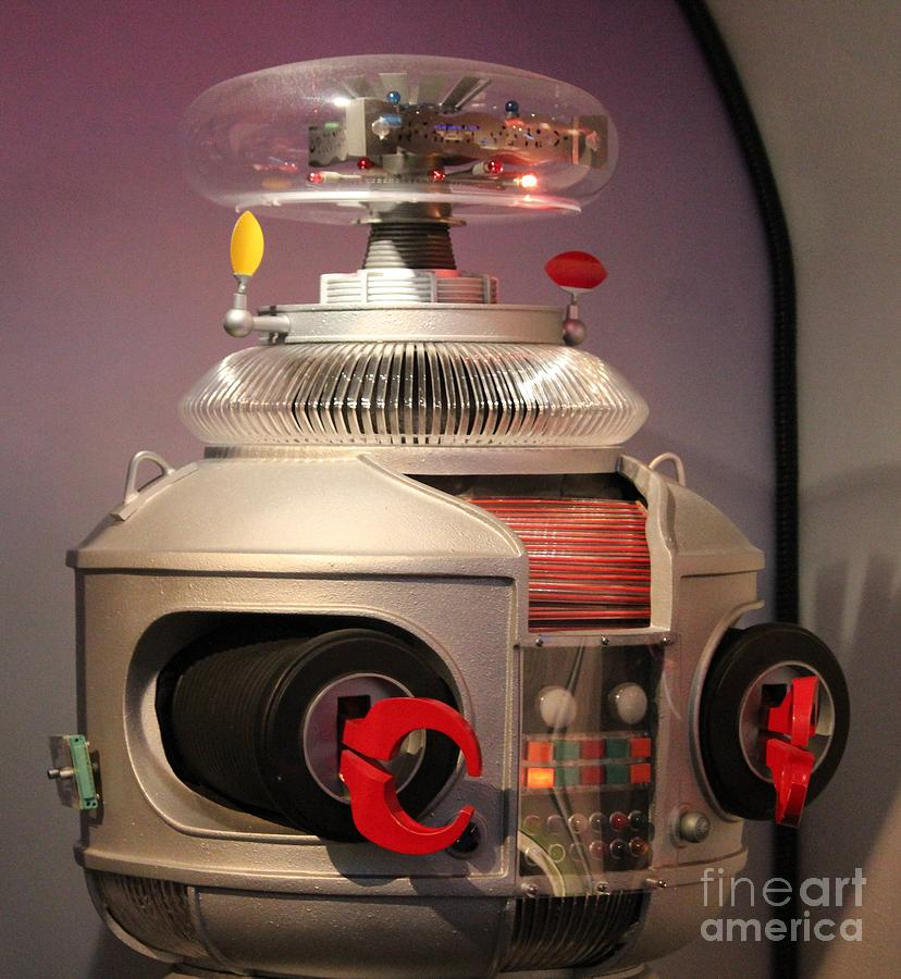Robot Photograph - B-9 Robot From Lost In Space by Cynthia Snyder