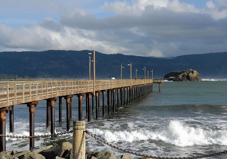 Pier Photograph - B Street Pier by Betty Depee