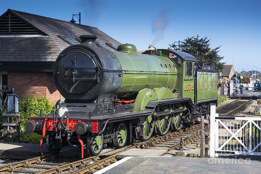 Poppy Line Photograph - B12 Steam Loco 8572 by Simon Pocklington