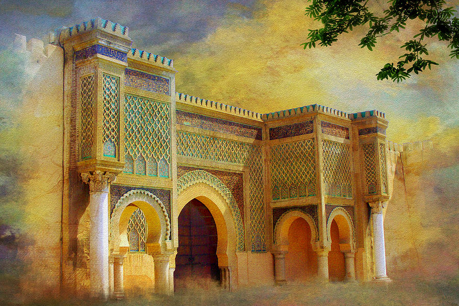 Bab Mansur Painting by Catf