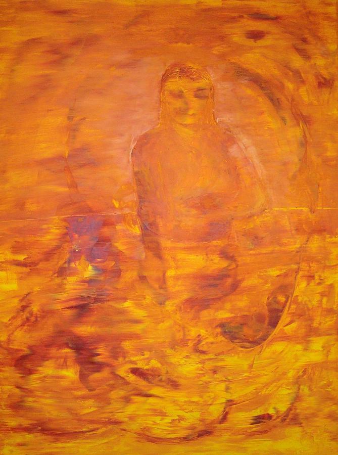 Baba Anne Painting by Gunter  Tanzerel