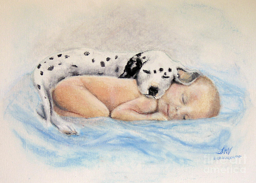 Baby Painting - Babies  by Stella Violano