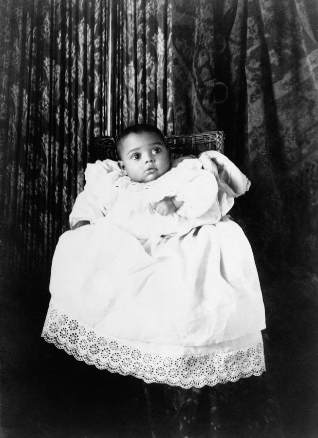 1899 Photograph - Baby, C1899 by Granger
