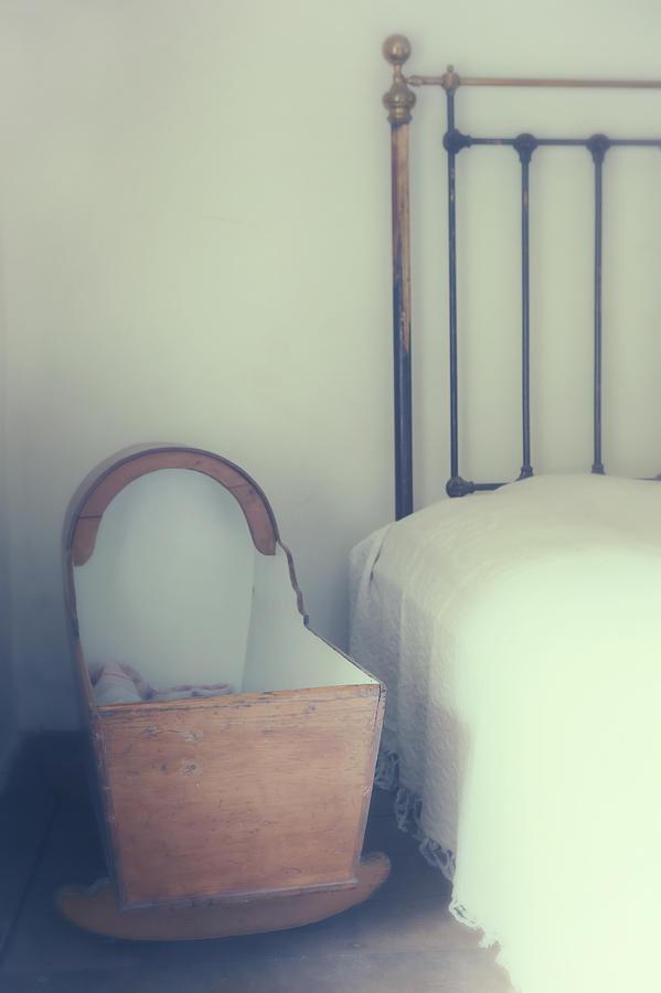 Bed Photograph - Baby Crib by Joana Kruse