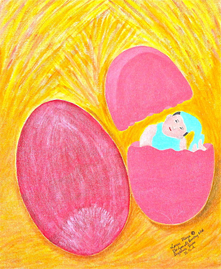 Baby Egg Painting