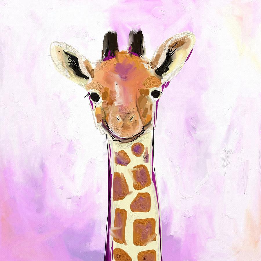Giraffe Photograph - Baby Giraffe  by Cathy Walters